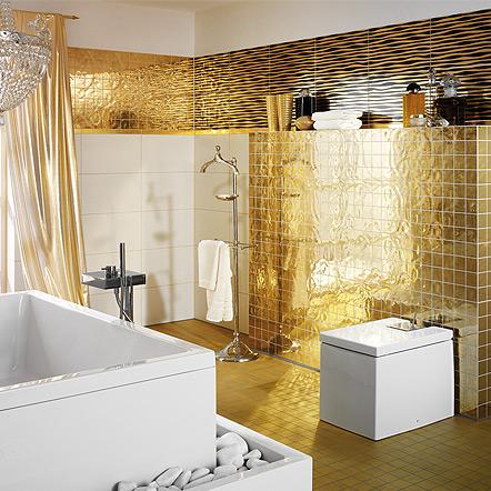 Stueler 24k Gold Tile