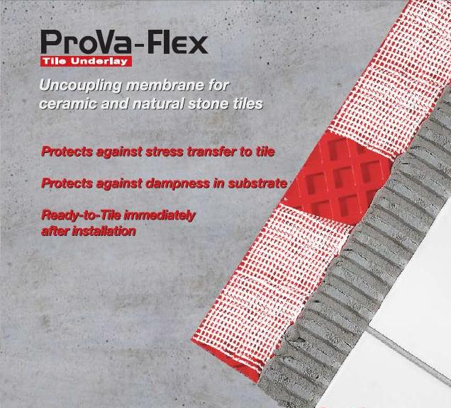 Prova Shower Systems The Premier Waterproofing Membrane