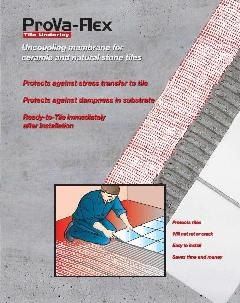 Prova Flex Tile Underlayment The Ditra Alternative